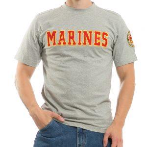 R17 - Applique Text Military Tees