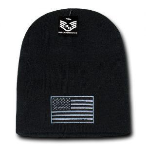 R95 - USA Flag Cuffless Beanies